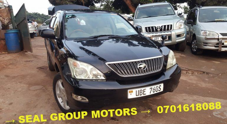 2009 Black Toyota Harrier for Sale at a cheap price in Kampala, Uganda - Seal Group Motors