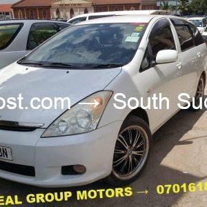Used 2007 Toyota Wish for Sale in Kampala Uganda at cheaper prices