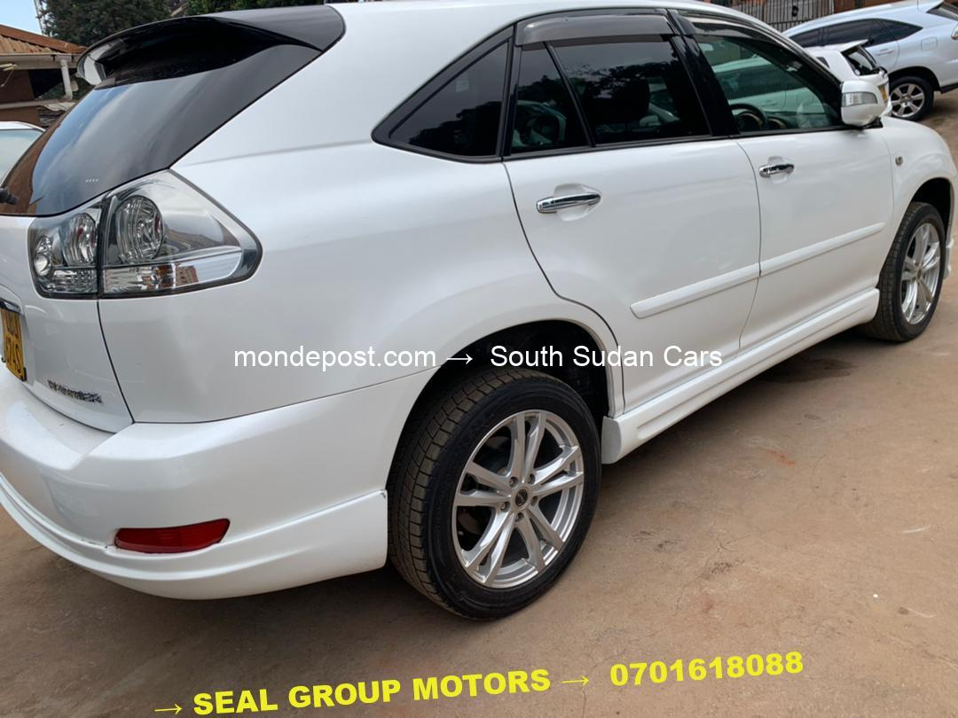 2008 Used Toyota Harrier Car for Sale at Cheaper Prices in Kampala City - Uganda - Seal Group Motors Car Bond